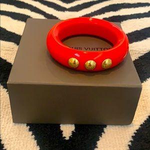 NEW - Louis Vuitton Red Bracelet